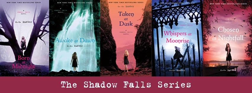 Third book in shadow falls series